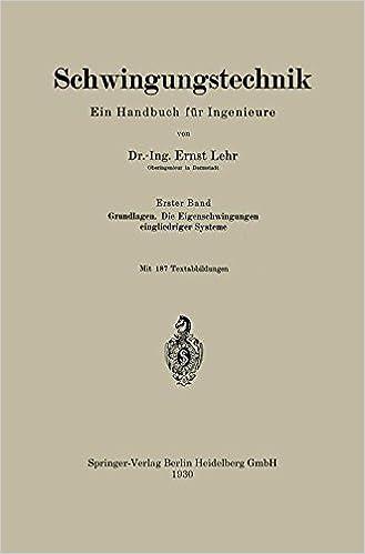 Schwingungstechnik. Ein Handbuch für Ingenieure