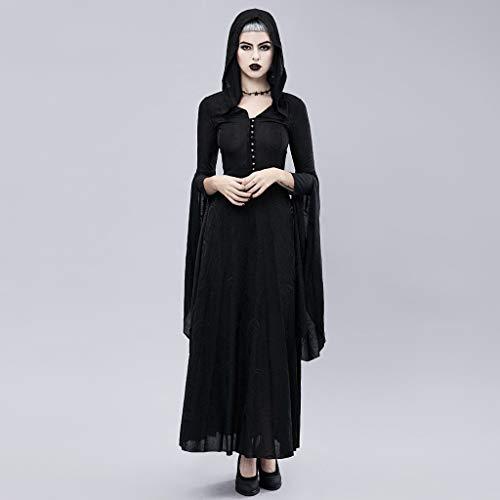 Halloween Metro Lian Mujer Capa Americano Encaje Disfraces Fiesta Vestido color Para Europeo Y Props De Cosplay S xHUqIH