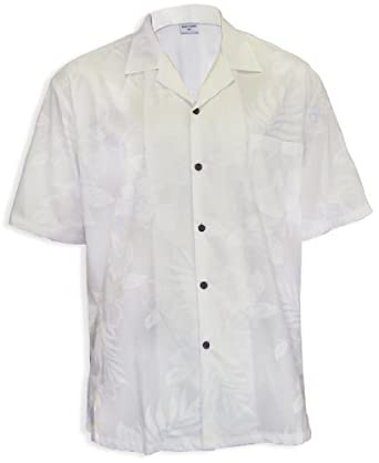 White Wedding Men Hawaii Island Shirt at Amazon Men's Clothing ...