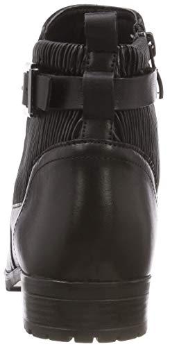 Caprice Noir 25350 Bottines comb 9 21 blk Elast 45 045 Femmes 9 ZWT6wZrSq