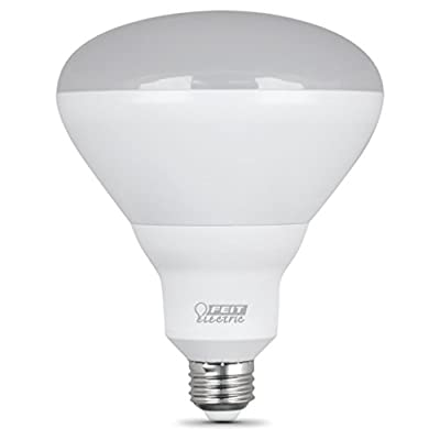 Feit Electric 65-Watt Equivalent BR40 Dimmable CEC LED ENERGY STAR 90+ CRI Flood Light Bulb, Daylight (2-Pack)
