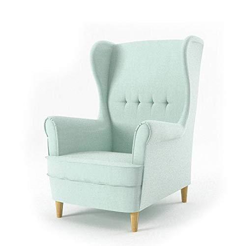 Sofini Ohrensessel Milo! Sessel für Wohnzimmer & Esszimmer! Skandinawisch, Relaxsessel aus Webstoff, Best Sessel! (Beauty 5)
