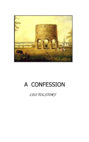 Amazon A Confession Ebook Leo Tolstoy Kindle Store