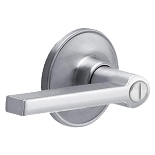 Dexter By Schlage J40SOL626 Solstice Bed And Bath Lever, Satin Chrome