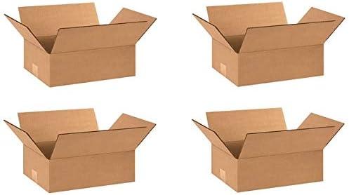 16 Length x 12 Width x 6 Height Bundle of 25 Kraft Aviditi MD16126 Multi-Depth Corrugated Box