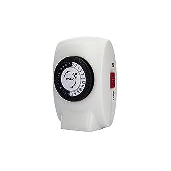 NSi Industries TORK 403B Easy-Set Basic Indoor 15-Amp 24-Hour Mechanical