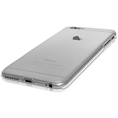 igadgitz Transparent Klar Hartplastik Etui Tasche Schutzhülle für Apple iPhone 6 PLUS & 6S PLUS 5.5 Zoll Schale Case Cover + Displayschutzfolie