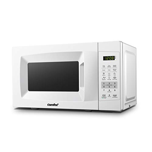 COMFEE' EM720CPL-PM Countertop Microwave Oven with Sound On/Off