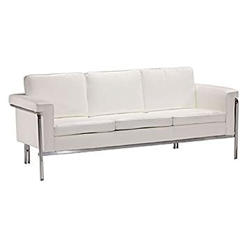 Zuo Singular Sofa, White