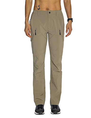 Nonwe Ladies' Quick Dry Hiking Trekking Pants Khaki XL/30.5