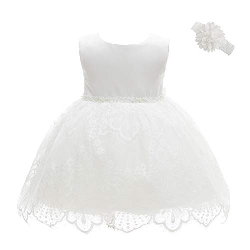 (Moon Kitty Baby Girls Baptism Dresses Christening Special Occasions Gown for Baby Girl with Beautiful)