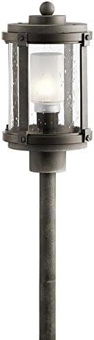 Kichler Barrington 2-Watt Olde Bronze Low Voltage Plug-in LED Path Light