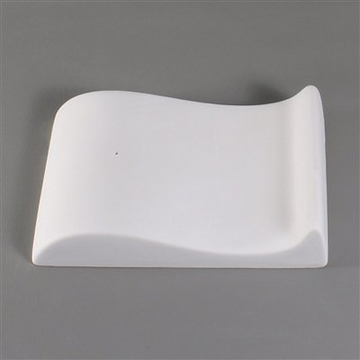 Mini S Curve - Mold for Slumping Glass Kiln - Glass Mold Stained
