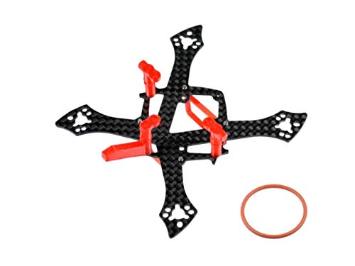 Microheli Carbon Fiber Frame Without Ducted (RD) - MOBULA7 HD