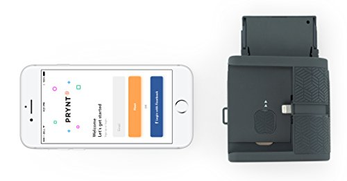 Prynt Pocket, Instant Photo Printer for iPhone - Graphite (PW310001-DG)