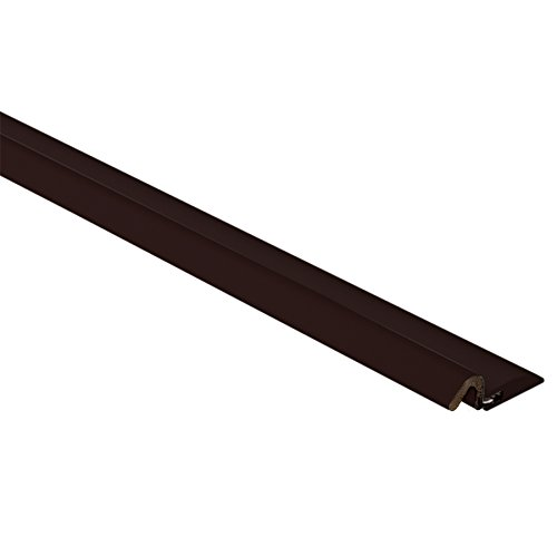 AM Conservation Group DS060W-B Windjammer Nail Up Wide 84'' Door Weatherstrip, Brown, 1-7/8''