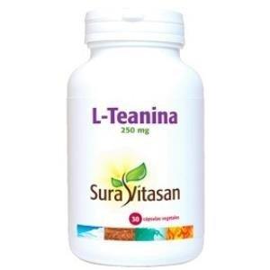 SURA VITASAN - L-TEANINA 250 mg 30cap SURA VITASAN: Amazon.es: Salud y cuidado personal
