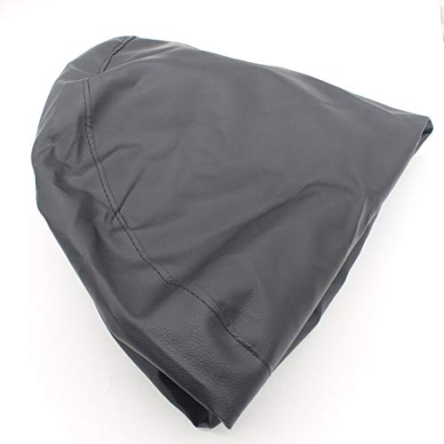 LoLa Ling Car Spare Tire Cover Tyre Protector Spare Tire Car Cover Pneus Carro Spare Wheel Cover Black PU Trailer Leather Car Styling by LoLa Ling (Image #1)