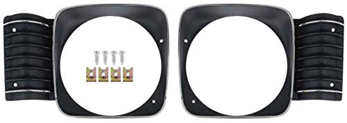 OER Die-Cast Front Headlamp Bezel Set 1968 Chevy II Nova SS Super Sport