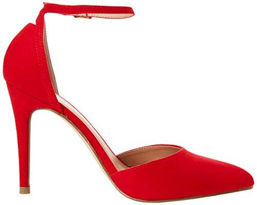 Femme Escarpins Look Rouge New Red 60 Bright Bout fermé Semper HqAwXx7