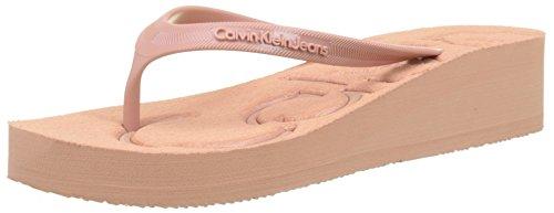 Calvin Klein Jeans Women's Tamber Jelly Toe Separators Pink (Ddu 000)