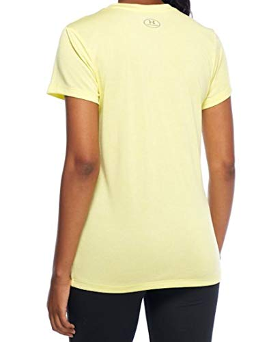 Under Armour Womens Tech V-Neck Twist (Tokyo Lemon, X-Small) by Under Armour (Image #1)