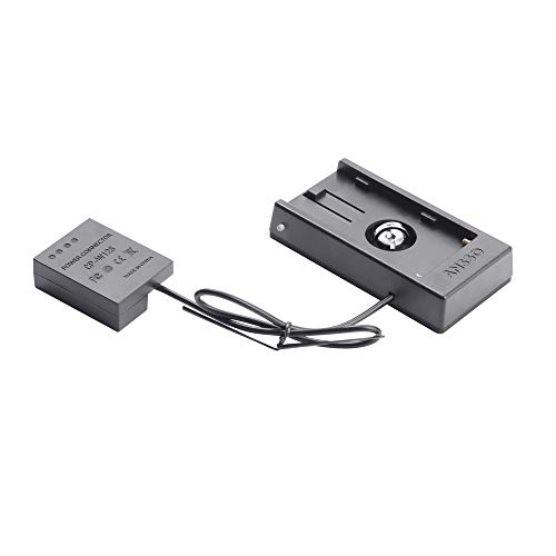 Ansso Battery Mount Plate Power Supply NP-F970 to W126 for Fuji X-T1 X-T2 X-E1