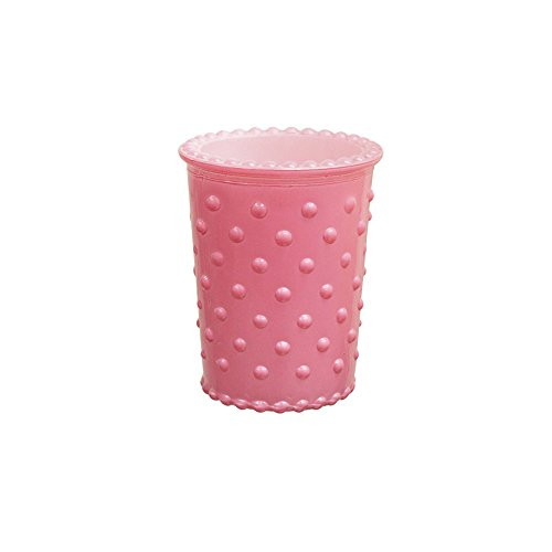 Hobnail Bud Vase - Glass Hobnail Vases Set of 12 in Pink for Small Flowers, Plants, Home Accents, Tabletop Décor, Tea Light or Votive Candles or Stationary