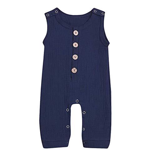 Leisuraly Newborn Baby Boys Girls Romper Jumpsuit Cotton