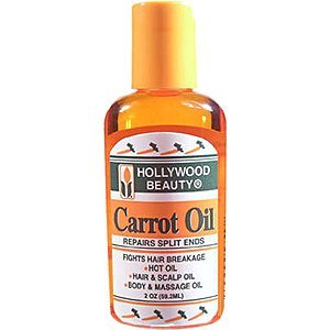 Hollywood Carrot Oil Repairs Damage Hair & Split Ends 2z (Pack of 3)