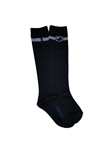 (Epona Smooth Finish Boot Sock Juniors Blue)
