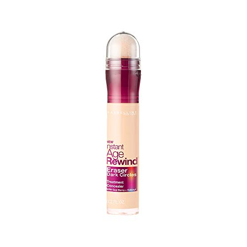 Maybelline New York Instant Age Rewind Eraser Dark Circles Treatment Concealer, Ivory, 0.2 fl. oz.