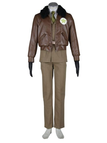 Axis Power Hetalia American Military Uniform Cosplay Costume, Female-Medium