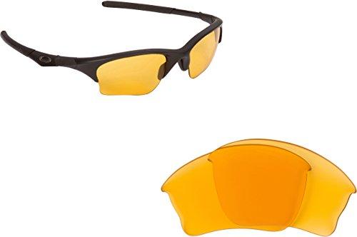 New SEEK Replacement Lenses Oakley HALF JACKET XLJ - Hi Intensity Yellow
