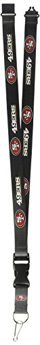 aminco NFL San Francisco 49ers Team Lanyard - Gold San Francisco 49ers Ring