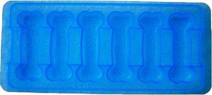 Bone Shaped Ice Cube Tray - 6 Large Ice -
