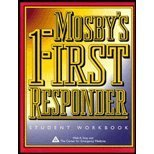 Workbook to Accompany Mosby's First Responder Textbook 9780815156000