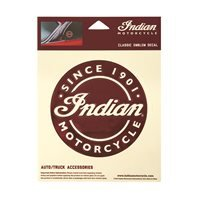 Indian Motorcycle Classic Emblem Decal