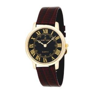 Mens Toledo Dress Watch - Sartego Men's SEN742R Toledo Leather Strap