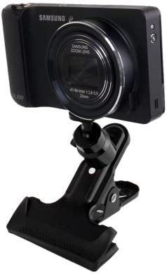 CAOMING Swivel Clamp Holder Mount for Studio Backdrop Camera Durable Black