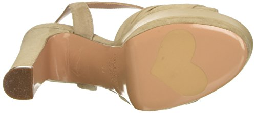 Rafia Set Beige High Women's Cs7pdq Twin Heels 00819 f8SqAgWwx