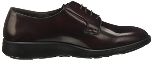 Fratelli Rossetti Uomini 45.187 Lace Up Brogue Rosso (bordeaux)