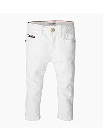 555d27c87352 Tommy Hilfiger - Pantalon - Bébé (Fille) 0 à 24 Mois - Blanc - 98 cm ...