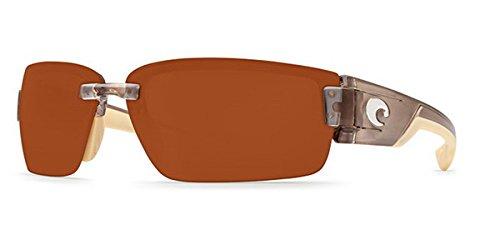 Costa Del Mar Sunglasses - Rockport- Plastic / Frame: Crystal Bronze Lens: Polarized Copper 580P Polycarbonate