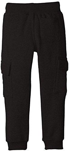 Southpole – Kids Little Boys' Kids Active Cargo Jogger Fleece Pants, Black, Medium
