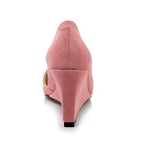 BalaMasa Femme Sandales Compensées EU APL11006 36 Rose Rose 5 UtqrU