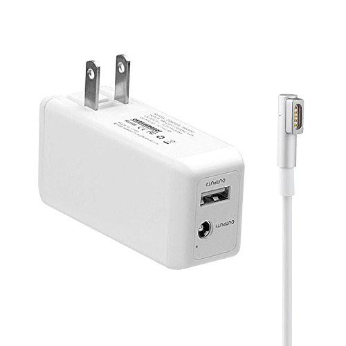45W Magnetic 1st-Gen Wall Charger Apple MacBook Air - Wakeach Portable Laptop Adapter USB Port MacBook Air 11 13 inch (Made Before June 2012) by Wakeach
