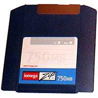 Zip 750MB Pc/mac Cart Single Clamshell Quad-lingual