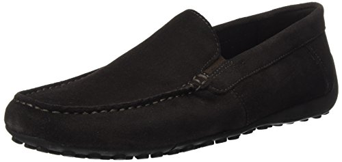 D C6024 Geox M Mocassins Uomo US Brown Dk B Mocassino Coffee Snake Men 7 ppqA0w
