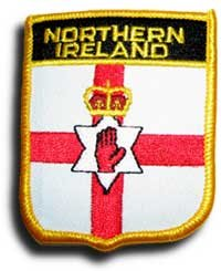 Northern Ireland - Country Shield Patches